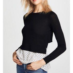 Club Monacro Azamick Sweater Blouse Size Small
